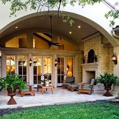 Gorgeous outdoor space...!!!