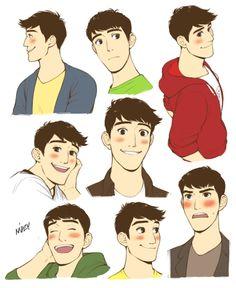 the adorable faces of Tadashi Hamada <3