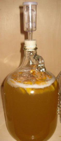 Orange Clove Mead~Makes 1 gallon