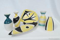 Zsolnay Török János modern tárgyak egyben Mid Century Modern Design, Mid Century Style, Modern Dinnerware, Space Age, Cosmic, Mid-century Modern, Abstract Art, Art Deco, Pottery