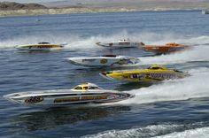 power boat races, Key West, Florida