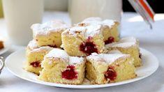 PRAJITURA CU VIȘINE  | Bucătar Maniac - YouTube Fruit Sponge Cake, Sponge Cake Recipes, Sweets Recipes, My Recipes, Romanian Desserts, Food Cakes, Asmr, French Toast, Make It Yourself