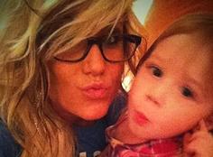 Chelsea Houska & Aubree! Chelsea has always been my favorite in Teen Mom 2! <3