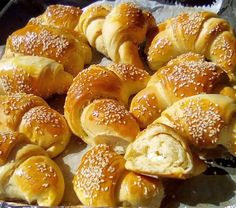 Pain Pizza, Greek Recipes, Pretzel Bites, Finger Foods, Appetizers, Favorite Recipes, Sweets, Bread, Snacks