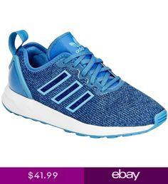 factory price fb771 c4ef4 adidas Originals Kids Junior ZX Flux ADV Sports Shoes Trainers - Blue