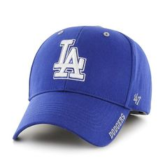 Los Angeles Dodgers Frost Royal 47 Brand Adjustable Hat - Great Prices And Fast Shipping at Detroit Game Gear Green Puma Shoes, Dodger Hats, Detroit Game, Los Angeles Dodgers, Pumas Shoes, Hat Making, Caps Hats, Mlb, Baseball Hats