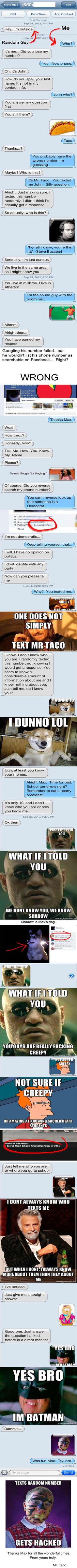 Funniest Text Conversations to Wrong Number