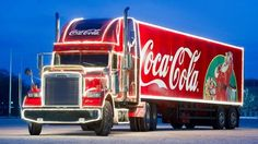 Cross Stitch Chart Pattern of Coca Cola Freightliner Coca Cola Christmas, Christmas Truck, Christmas Adverts, Christmas Treats, What Is Christmas, Christmas Time, Coca Cola Weihnachtstruck, Freightliner Trucks, Great Ads