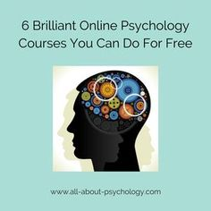 Check out these 6 brilliant online psychology courses you can do for free this year. Online Psychology Courses, Psychology Notes, Psychology Studies, Forensic Psychology, Psychology Fun Facts, Counseling Psychology, Effective Study Tips, Online College Classes, Mental Health Help
