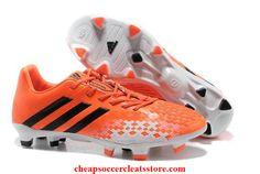 adidas Predator LZ TRX FG Junior Running Orange Black White Cheap Soccer Cleats