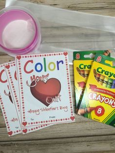 Valentine's Day FUN! DIY Printable Valentines Day Card + Make Your Own Crayons Gift Pack with kids. It's a great gift for a school class. It's also affordable and fun. Printable Valentines Day Cards, Valentines Food, Valentine Recipes, Roast Recipes, Ramen Recipes, Sausage Recipes, Potato Recipes, Vegetarian Recipes, Chicken Recipes