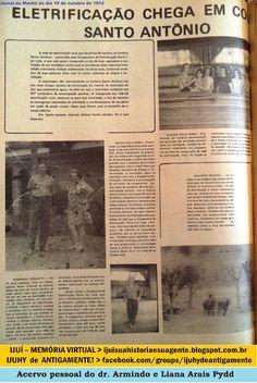 IJUÍ - RS - Memória Virtual: No ano de 1974 a eletrificação chegou em Colônia S...