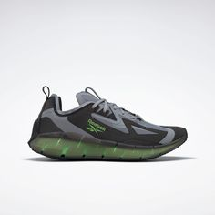 Zig Kinetica Concept_Type2 Shoes Cold Grey 4 / Black / Solar Green FX0002