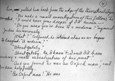 The Great Gatsby | F. Scott Fitzgerald (1925) Manuscript page in the author's own hand.