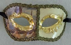Venetian Eye Mask Ivory & Gold Mardi Masquerade Halloween Costume Prom Wedding Mardi Gras World http://www.amazon.com/dp/B005EMGRME/ref=cm_sw_r_pi_dp_E-DKwb0319R4X