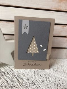 Great Pics Christmas cards 2018 Concepts Yuletide as well as Festive Time of year usually are quick approaching. The previous you have struct Christmas Cards 2018, Homemade Christmas Cards, Stampin Up Christmas, Homemade Cards, Handmade Christmas, Holiday Cards, Christmas Diy, Paper Cards, Diy Cards