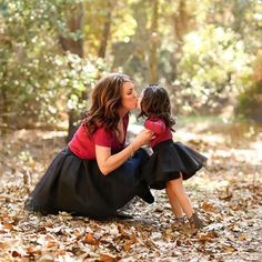 Mommy and Me... Matching tulle skirts by Bliss Tulle
