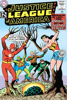 Justice League of America #9 - The Origin of the Justice League!