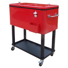You should see this Patio Cooler in Red on Daily Sales!