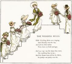 Old Design Shop ~ free digital image: The Wedding Bells by Kate Greenaway