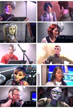 The whole Family <3 :) Sw Rebels, Star Wars Rebels, Star Wars Art, Star Trek, Ezra Bridger, Wolf, Ahsoka Tano, Star War 3, Star Wars Humor