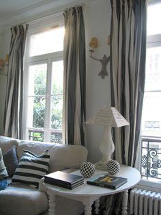 alamodeus: Loving silk taffeta curtains ...