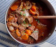 "Julia Child's Beef Bourguignon by eatlivetravelwrite: ""Bon Appétit!"" #Beef #Stew #Beef_Bourguignon"