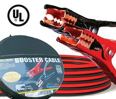 Cartman Booster Cable 4 Gauge x 20Ft in Carry Case UL Listed by Cartman via https://www.bittopper.com/item/cartman-booster-cable-4-gauge-x-20ft-in-carry-case-ul/
