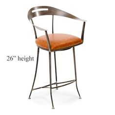 """Ventura Counter Stool 26"""" Seat Height by Charleston Forge"""