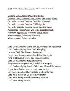VIII. Domine Deus, Agnus Dei Rv, Motorhome, Camper