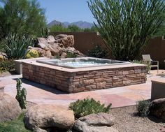 Above Ground Hydro-therapy pool! In Ground Spa, In Ground Pools, Above Ground Pool Landscaping, Backyard Landscaping, My Pool, Pool Spa, California Pools, Small Pools, Backyard Retreat