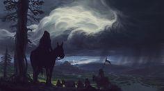 Riverlands, Marin Olah on ArtStation at https://www.artstation.com/artwork/bB0ka