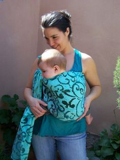 Beautiful and functional handmade baby slings
