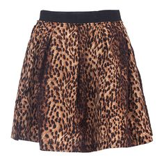 Leopard Print Pleated Mini Skirt ($21) ❤ liked on Polyvore featuring skirts, mini skirts, saias, animals, pleated skirt, pleated miniskirt, short skirts, print skirt and zipper skirt