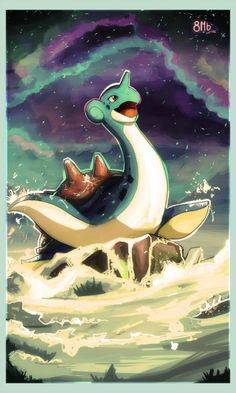Razuri Chan Lapras by on deviantART Lapras Pokemon, Gif Pokemon, Pokemon Pins, Pokemon Memes, Pokemon Fan Art, Cool Pokemon, Pikachu Art, Pokemon Stuff, Ps Wallpaper