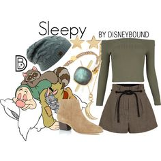 Disney Bound - Sleepy
