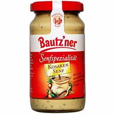 """Bautzner Senfspezialität """"Kosaken Senf"""""""
