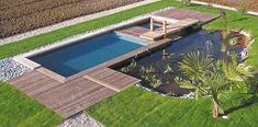 Piscine Bi-Eaux - Bassin écologique et bassin de nage