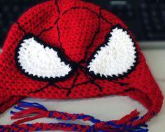 Spiderman Hat - Woolly & Stitched