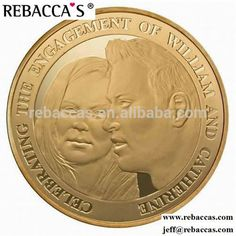 2015 company logo metal 2 pound sell antique gold coin