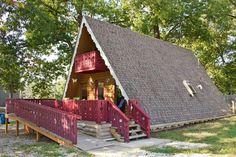 Forsythe, MO (near Branson); ~$90/night Full cabin about 10 min. from Branson, Modern inside.