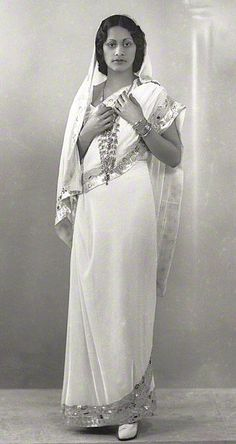 Maharaj Kumari Lalitarni Devi of Burdwan (b.1911 - d.1947), Daughter of Sir Bijay Chand Mahtab, Maharaja Bahadur of Burdwan.