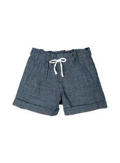 Girls Essentials Zoe Pull On Shorts Indigo shorts