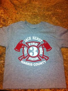 """Photo 1 of 46: Firetruck, Fire Engine / Birthday """"Sound the Alarm- Jack Henry is 3!""""   Catch My Party"""