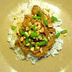 Slow Cooker Thai Pork with Rice