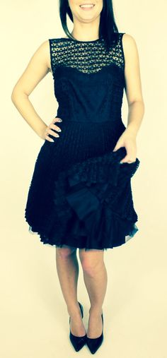 www.looksgoodonline.pl black#partydress#sinequanone#fashionholic#beauty
