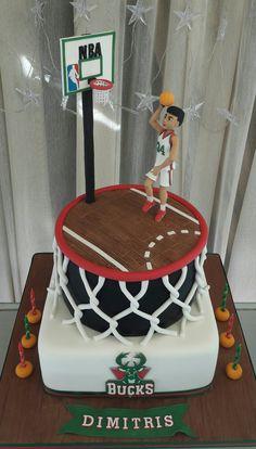 Giannis Antetokounmpo NBA vote basketball cake