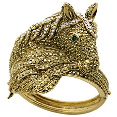 #Crystal #Horse #Bangle Was £98.00 Now £49.00	 You Save: 50%
