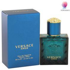 Versace Eros By Versace Cologne For Men 1 oz Eau De Toilette Spray Perfume Diesel, Best Perfume, Perfume Bottles, Perfume Fragrance, Gianni Versace, Versace Men, House Of Versace, Perfume Fahrenheit, Lotions