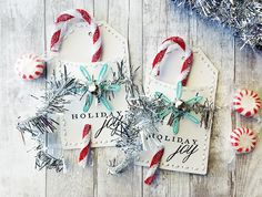 Holiday Joy Gift Tags by Dani at @studio_calico